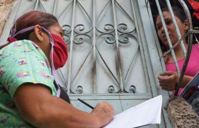 وضع علامات تمييزية على منازل المصابين بكورونا في فنزويلا... فيديو