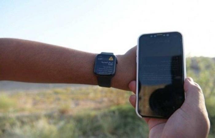 «الدفاع المدني»: اختبارات تجريبية للإنذار المبكر على الهواتف المتنقلة