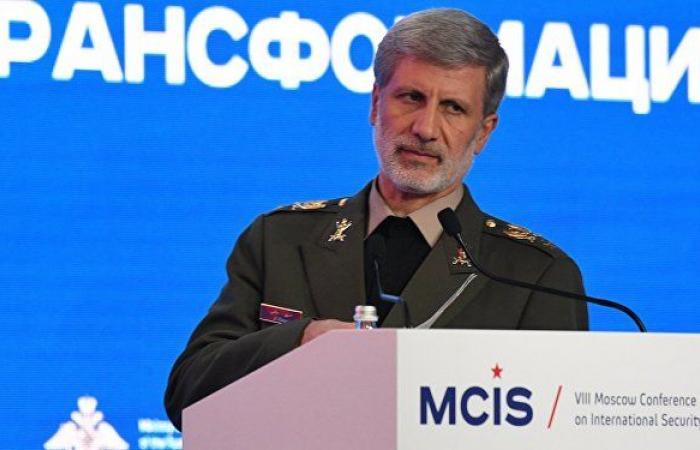 وزير الدفاع الإيراني: جذور التهديدات في المنطقة تعود لتدخلات من خارجها