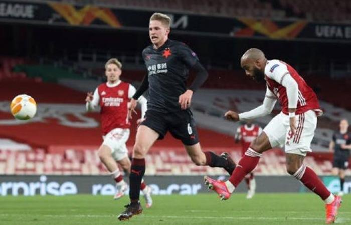 التعادل يحسم موقعة أرسنال وسلافيا براج بذهاب ربع نهائي الدوري الأوروبي