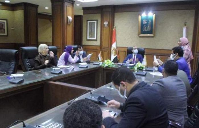 نائب محافظ سوهاج يلتقي عددا من أعضاء البرلمان