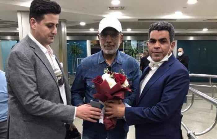 بيراميدز يستقبل بعثة الرجاء المغربي في مطار القاهرة| صور