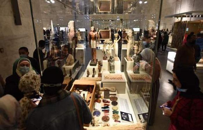 الآثار: 10 آلاف زائر لقاعة العرض المركزي بمتحف الحضارة خلال يومين