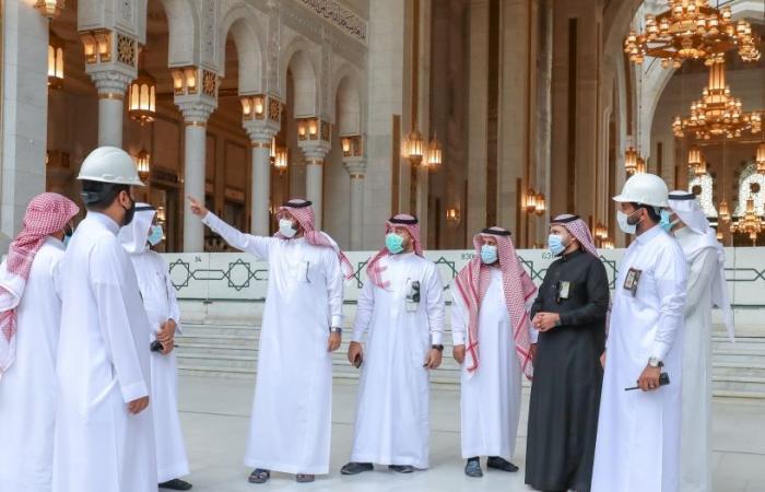 فريق ميداني لمتابعة تقديم الخدمات بالمسجد الحرام في رمضان