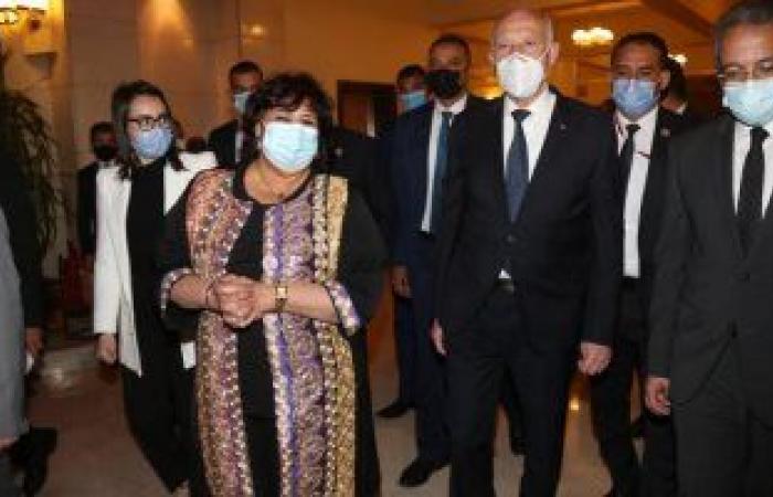 الرئيس التونسى فى احتفالية دار الأوبرا: مصر دائما ستظل زاخرة بفنونها وتراثها