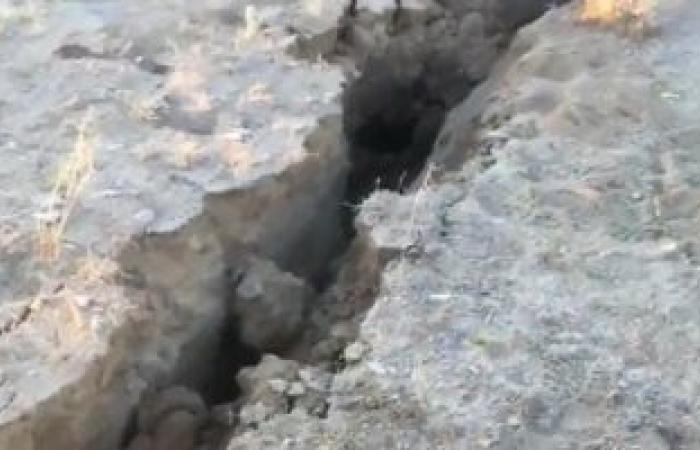 هزتان أرضيتان تضربان محافظة السليمانية شمال شرقى العراق