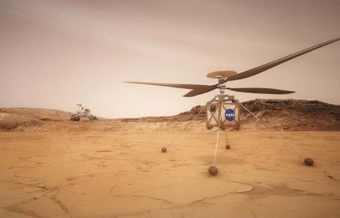 «ناسا» تؤجل تجربة إطلاق مروحية مسيَّرة في المريخ