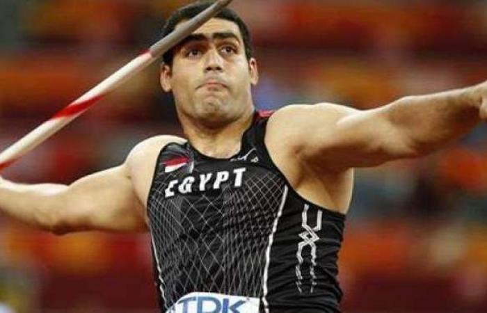 إيهاب عبد الرحمن يحصد ذهبية بطولة الجمهورية لألعاب القوى