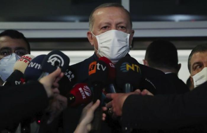 أردوغان: تركيا تدعم إعادة هيكلة المؤسسة العسكرية الليبية
