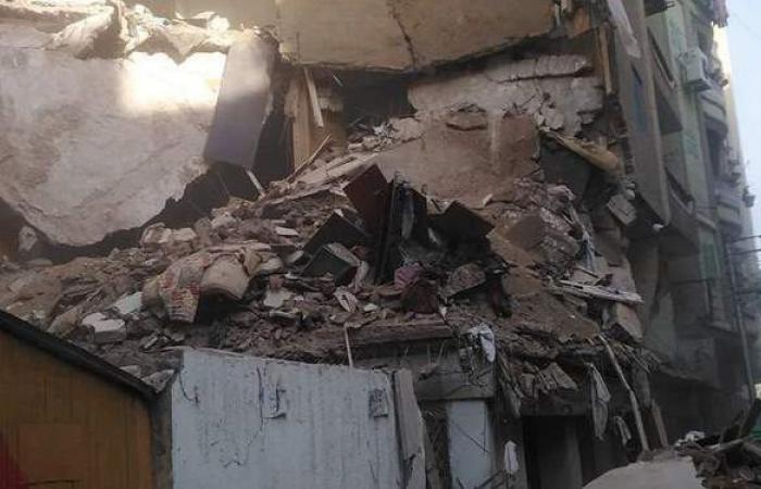 إنقاذ مسنة قبل انهيار منزل بدمنهور في البحيرة
