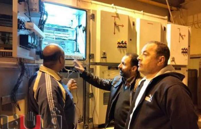 الانتهاء من الأعمال الكهروميكانيكية بمحطة صرف أبو عطوة بالإسماعيلية | صور