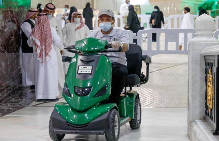 استحداث 3 نقاط لبيع تذاكر عربات التنقل بالمسجد الحرام
