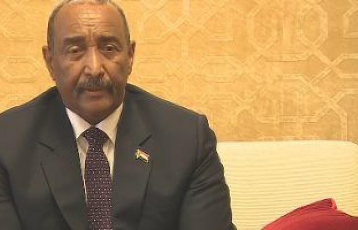 رئيس مجلس السيادة السودانى يؤكد حرص الحكومة والتزامها باستتباب الأمن