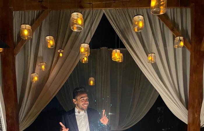 شاهد كيف احتفل محمود كهربا بعيد ميلاده.. صور