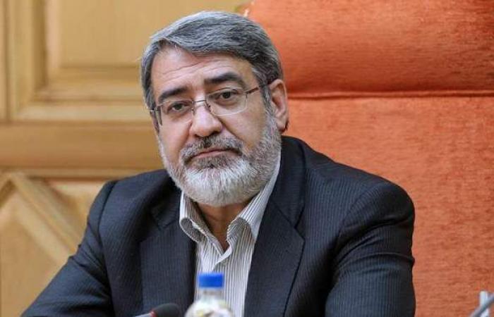 احتجاز وزير الداخلية الإيراني في المستشفى بعد إصابته بكورونا