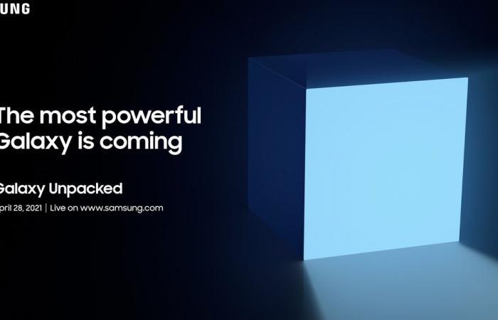 إعلان تشويقي يكشف عن موعد حدث سامسونج القادم في 28 من أبريل