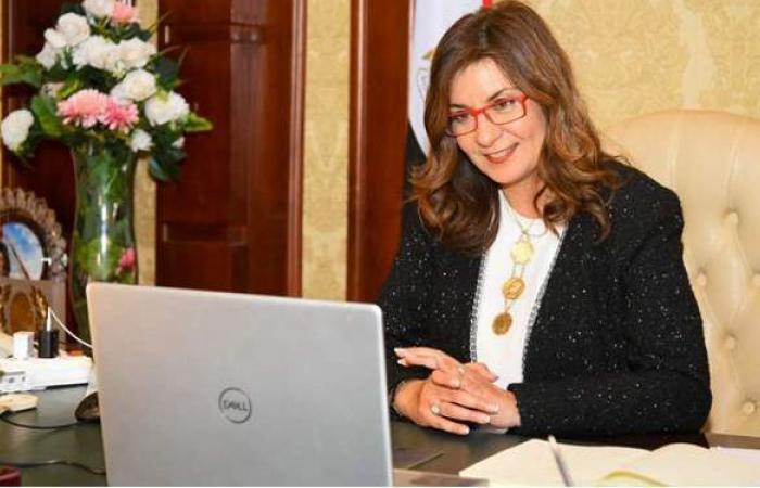 وزيرة الهجرة تتواصل مع مصري ساعد الشرطة الأمريكية في القبض على مجرم هارب