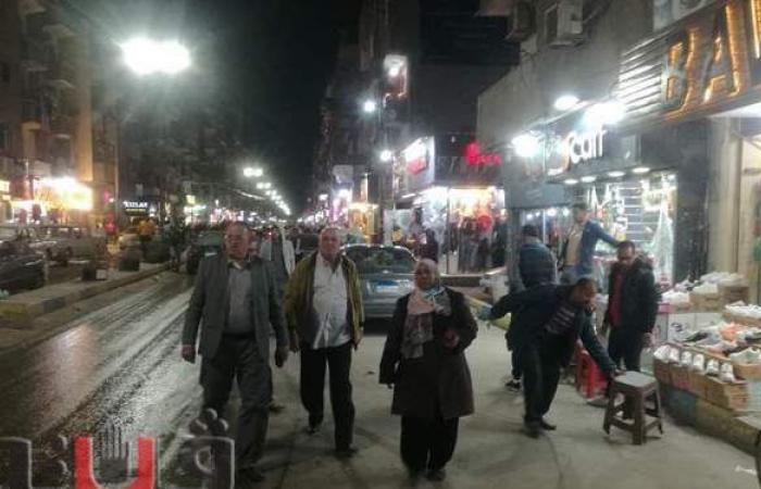 حملة لرفع الإشغالات عن شوارع حي ثان الإسماعيلية | صور