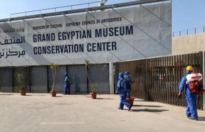 الحكومة تنفى الإعلان عن وظائف جديدة بالمتحف المصرى الكبير