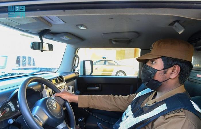 رجال الأمن في الحدود الشمالية يؤدون واجبهم بحرص واقتدار