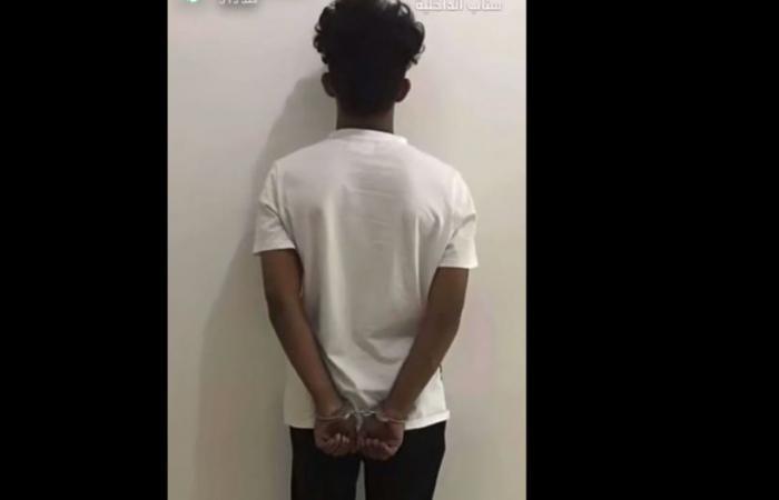 القبض على المتباهى بتعاطي المخدرات في الرياض