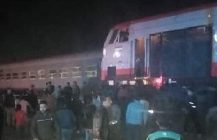 السكة الحديد تشكل لجنة تحقيق فى واقعة قطار منيا القمح وتتحفظ على السائق