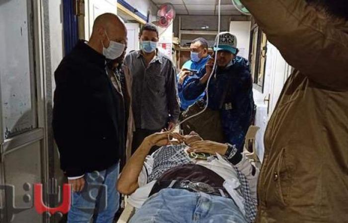 أول صور لمصابي حادث قطار منيا القمح بالشرقية