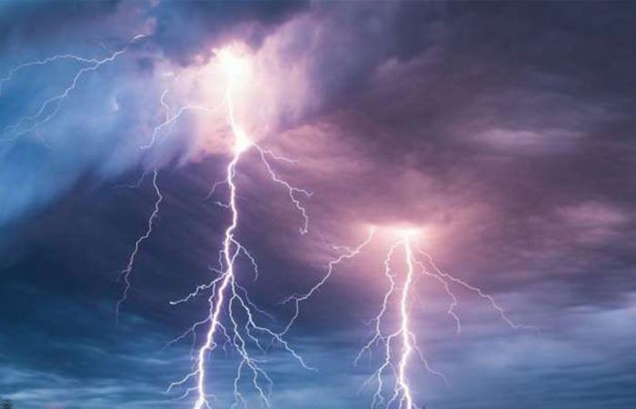 «الأرصاد» عن طقس الأحد: أمطار رعدية مصحوبة بزخات برد على بعض المناطق