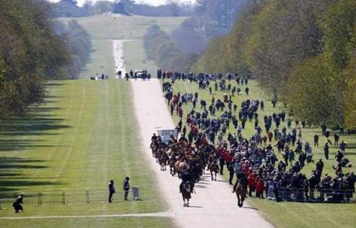 قلعة ويندسور تستعد لجنازة الأمير فيليب | صور
