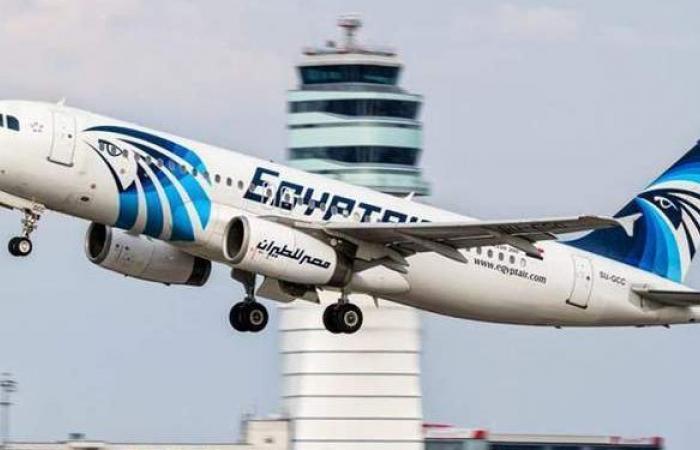 مصر للطيران تنظم 38 رحلة جوية لنقل 3091 راكبا بالمطارات