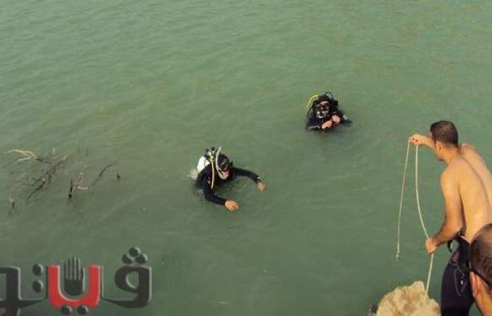 دفن جثة عامل غرق بترعة الإبراهيمية بالمنيا