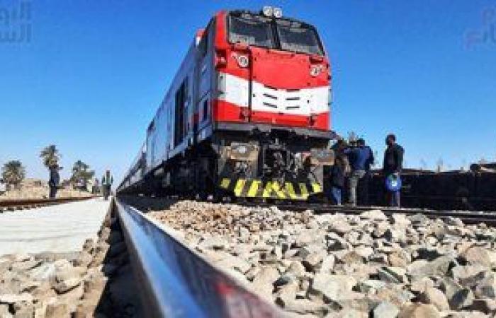 السكة الحديد: عودة حركة القطارات فى الاتجاهين على خط القاهرة الإسكندرية