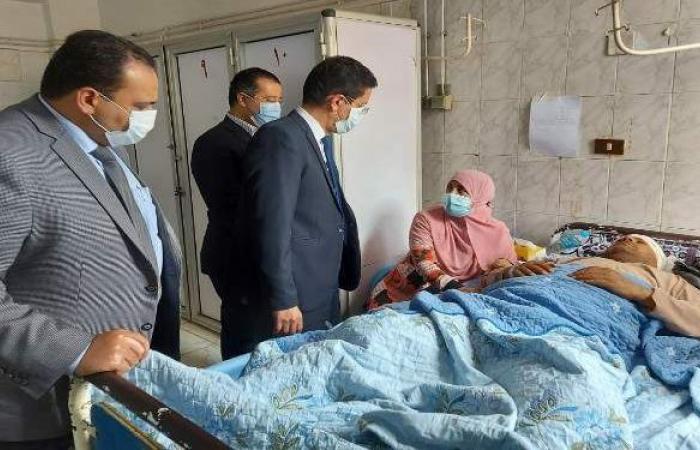 بنها الجامعي: خروج 37 مصابا في حادث قطار طوخ