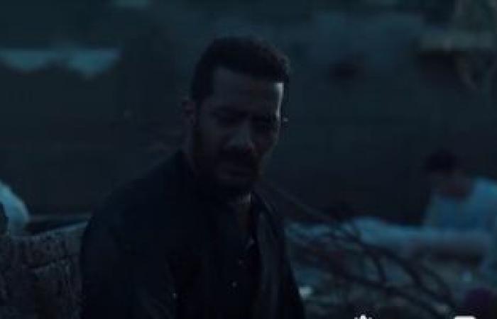 السيول تبتلع نجاة حبيبة محمد رمضان فى مسلسل موسى الحلقة 7