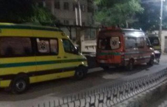 ترجل من سيارته.. طبيب يقدم إسعافات أولية لسيدة صدمتها سيارة بالمنيل (فيديو)