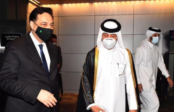 """دياب يوجه نداء إلى """"الأخوة العرب""""… لبنان في خطر شديد"""