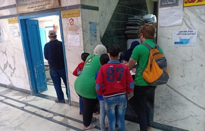 التضامن: إنقاذ 6 أطفال أشقاء من الشارع وإلحاقهم بدار رعاية بالقاهرة.. صور