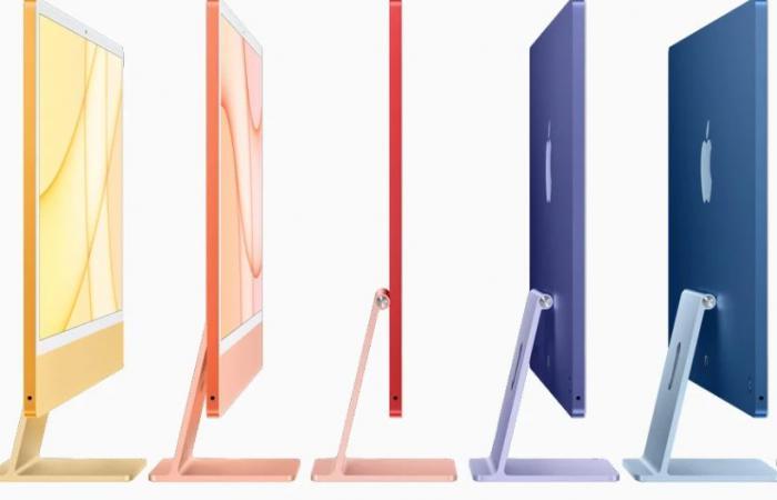 أجهزة iMac الجديدة من ابل تأتي بحجم أنحف وشريحة M1