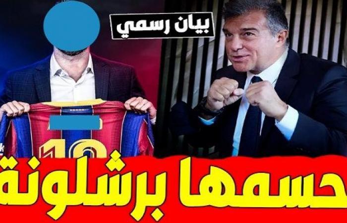 صفقة مُدمرة.. برشلونة يحصل على توقيع «سفاح الشباك»