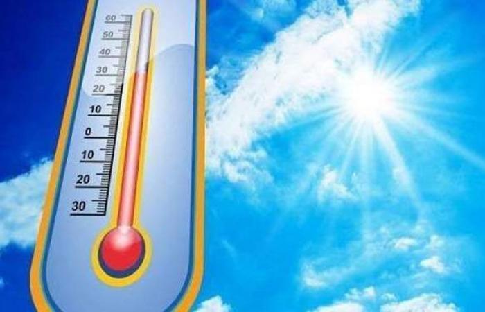 حالة الطقس ودرجات الحرارة غدا الخميس 22 -4 -2021 فى مصر