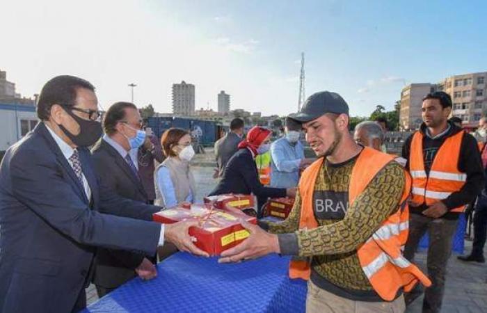 محافظ الإسكندرية: نسبة الإنجاز بمشروع تطوير محطة مصر بلغت٤٠٪ ونسير بمعدل زمني جيد