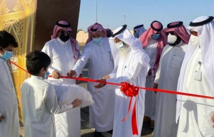 افتتاح السوق الرمضاني في بيشة بمشاركة 90 أسرة منتجة