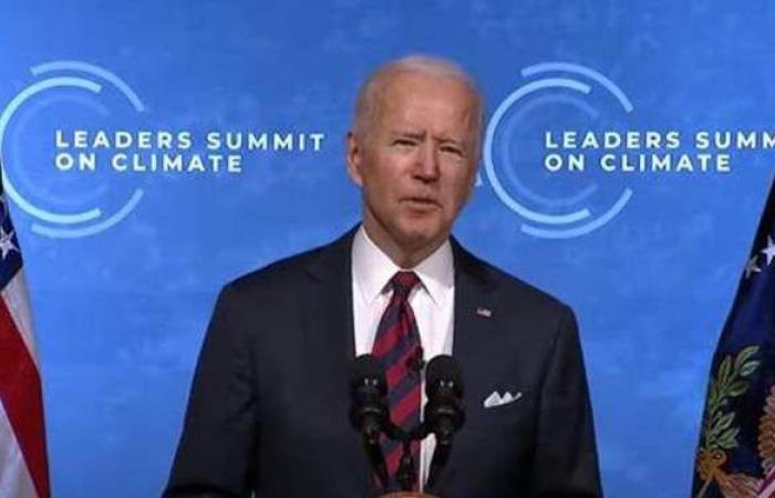 جو بايدن: قمة المناخ الخطوة الأولى للوصول لمستقبل آمن ومزدهر