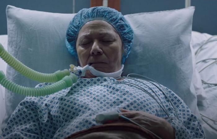 مسلسل لعبة نيوتن الحلقة 10.. منى زكى تنجب طفلها ووالدتها تدخل العناية المركزة