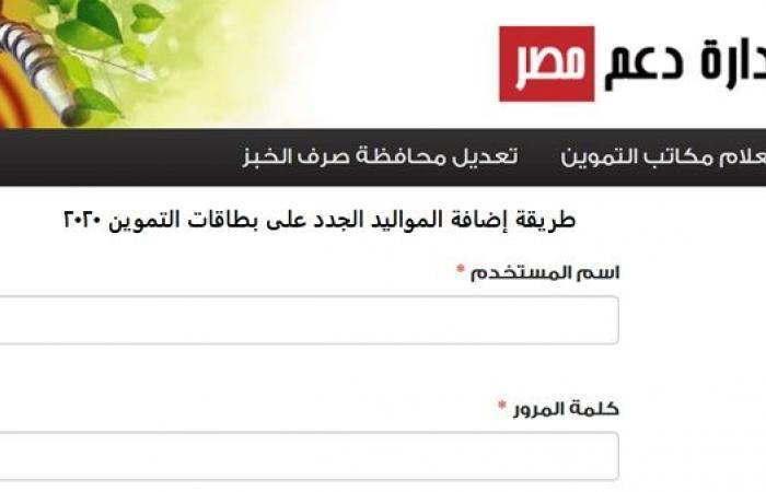 كل ما تود معرفته عن موقع دعم مصر وطرق إضافة المواليد الجديدة وإصدار البطاقات