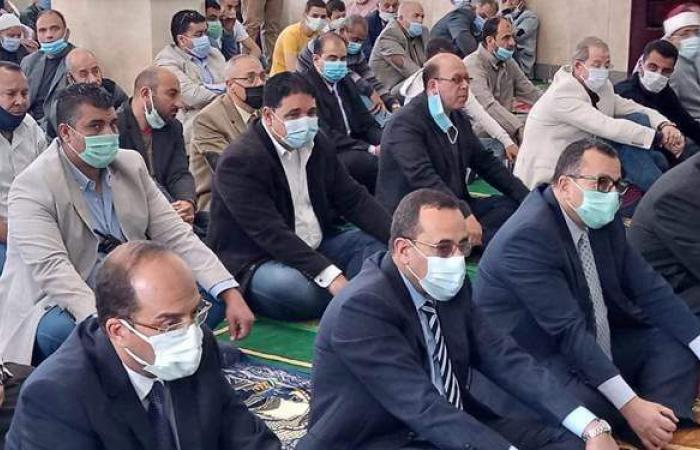 محافظ شمال سيناء يفتتح مسجد الشهيد محمد شراب