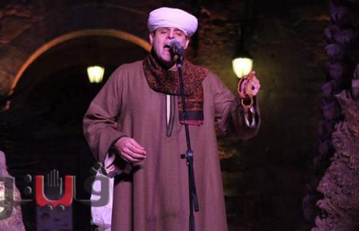 ليلة في حب الله.. محمود التهامي يتغنى بقصائد المدح بقصر الأمير طاز |فيديو