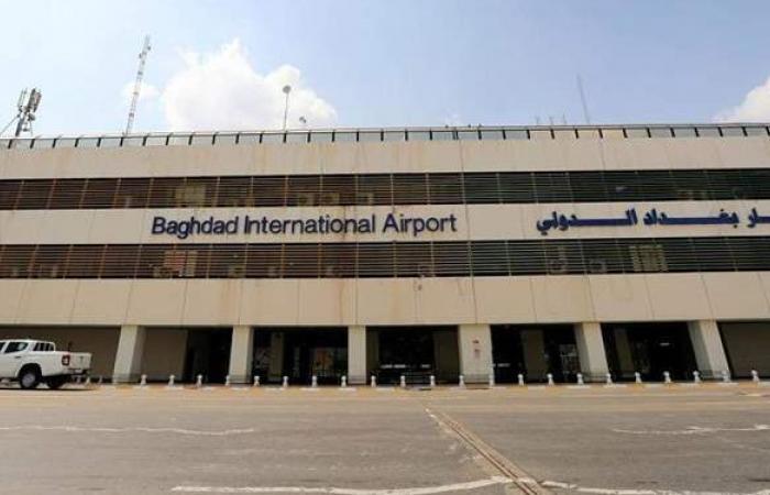 استهداف قاعدة أمريكية في مطار بغداد الدولي