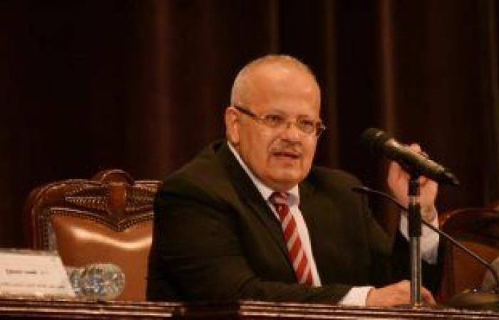 مجلس جامعة القاهرة يطالب الدكتور الخشت بالترشح لفترة رئاسية ثانية