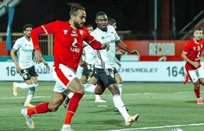محمد نجيب يتعادل للجونة في مرمي الأهلي